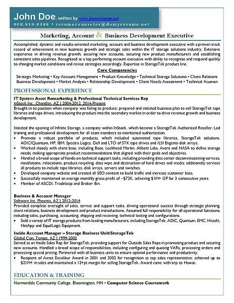 Resume Writing Services - Tucson, AZ