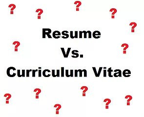 What's The Difference Between A Resume and CV?
