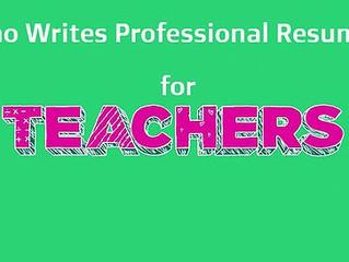 Who Writes Resumes for Teachers & Professors in Arizona?