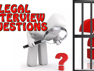 What Questions Are Illegal For Employers To Ask During A Job Interview?