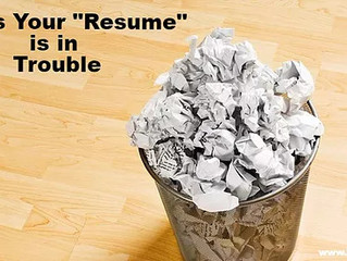 6 Signs Your Resume Is In Trouble