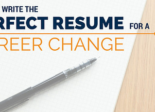 How To Write An Effective Resume For Career Changers