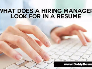 What Is the First Thing Most Hiring Managers Look For On A Resume?