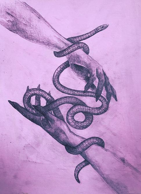 PRINT A4 'Snake - Light&Shadow II'