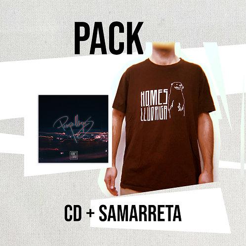 PACK CD 'Pampallugues' + Samarreta 'Homes Llúdriga'