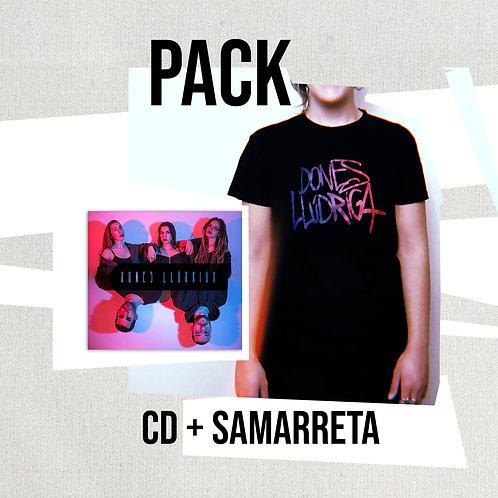 PACK CD 'Dones Llúdriga' + Samarreta