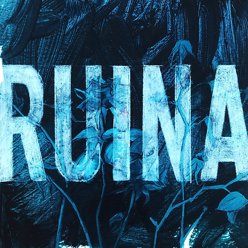 PRINT 21x21cm 'Ruina'