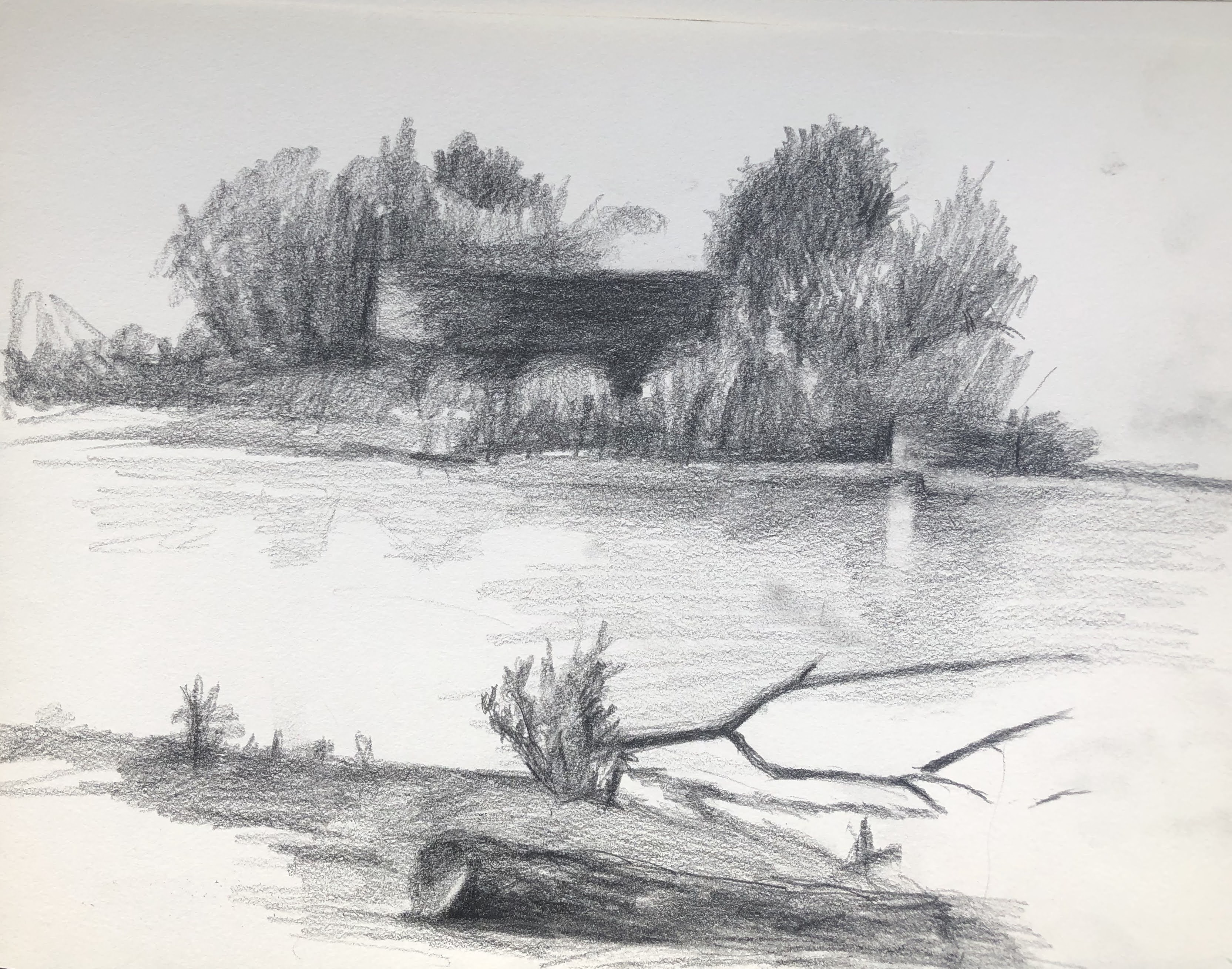 Hayarkon river