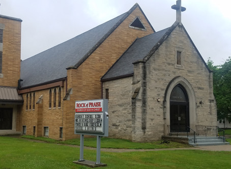 Rock of Praise COGIC acquires land and building ahead of schedule.