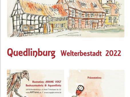 Quedlinburg Kalender 2022  -  ARTiane-Kunstkalender