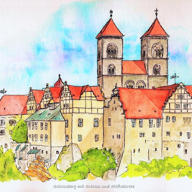 QLB- Schloss mit Stiftskirche
