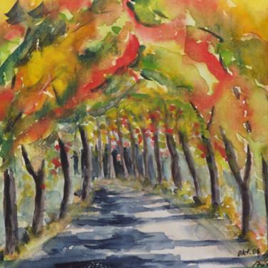Herbst - Allee
