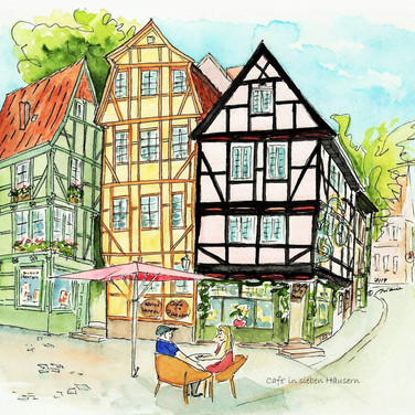 QLB - Cafe in 7 Häusern