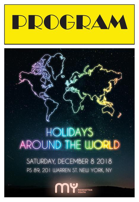 Holiday Around The World Alternate Cover