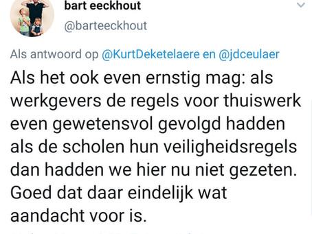 Bart Eeckhout beïnvloedt sterk in 219 tekens