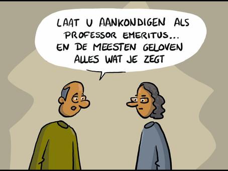 Steven Van Gucht blijft heel doeltreffend angst creëren in het VTM-nieuws