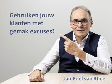 Gebruiken jouw klanten met gemak excuses?