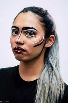 Pop-Art Style Makeup