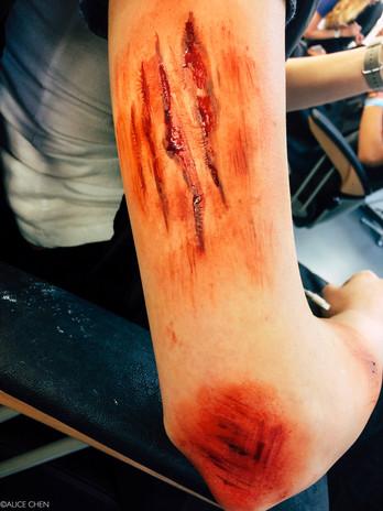 Wounds Makeup