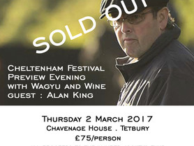 IT'S A SELL-OUT!  CHELTENHAM FESTIVAL PREVIEW EVENING