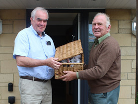 LUCKY WINNER RECEIVES HIS PRIZE COTSWOLD WAGYU BEEF BOX