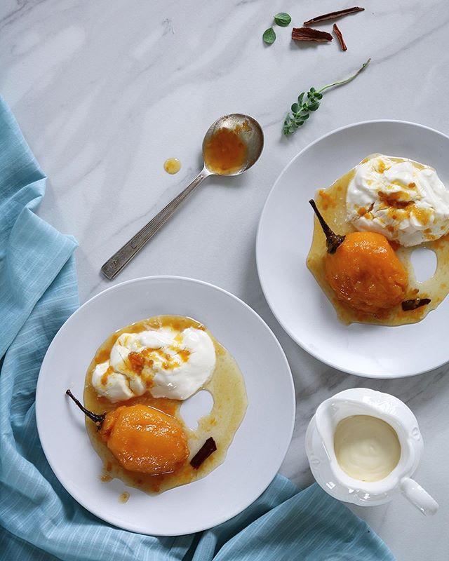 Dulce de tomate de árbol con yogurt griego hecho en casa