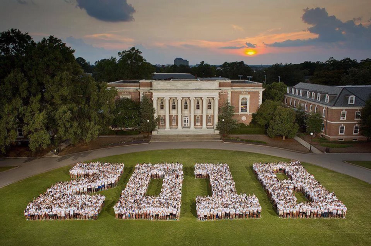 The Duke Univeristy Class of 2018. (Great photo of me.)