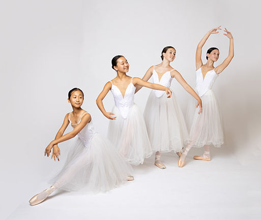 PBT Apprentice students in Giselle portrait