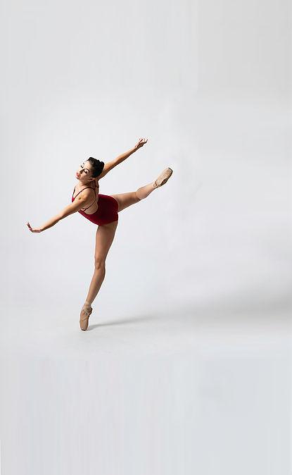 Chloé company dancer in pose