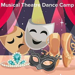 Musical Theatre Dance Camp illustration of props