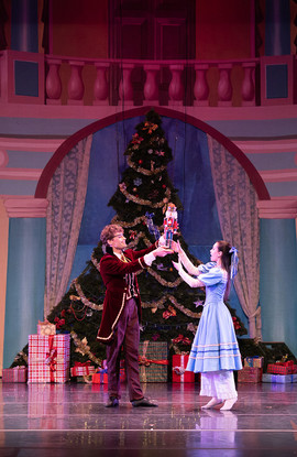 Nutcracker Drosselmeyer and Clara