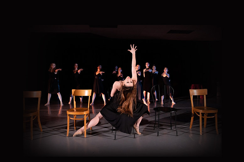 Aline and company dancers in Cabaret