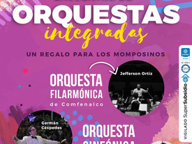 Encuentro de Orquestas Integradas: Un regalo para los momposinos