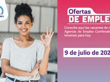 Ofertas de empleo - 9 de julio de 2021