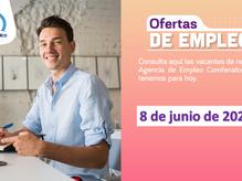 Ofertas de empleo - 8 de junio de 2021