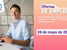 Ofertas de empleo - 28 de mayo de 2021