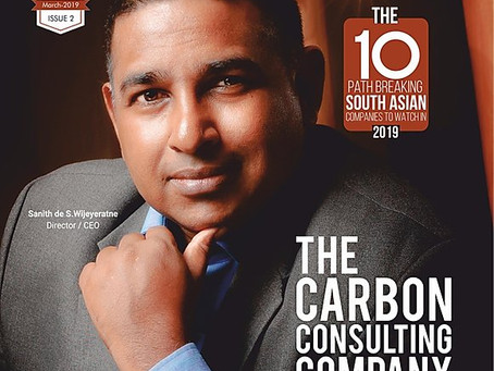 The Carbon Consulting Company ranks number 1 on the Top 10 Groundbreaking Co's in Southeast