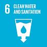 SDG Goal #6 Logo