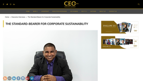 The CEO Magazine Interviews our CEO