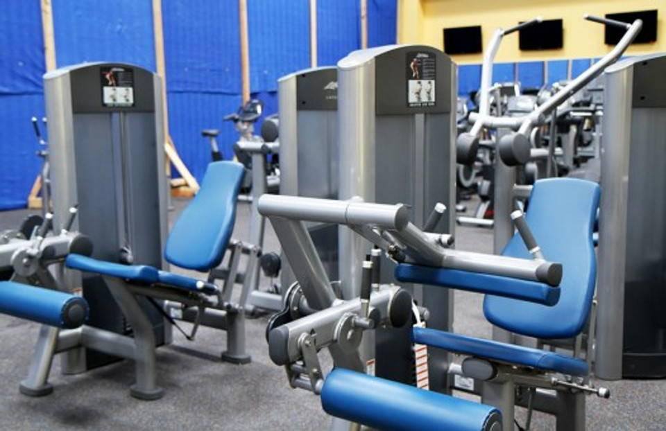 Equipment Gym Room Fitness Treadmill Sport