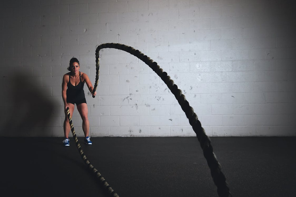 Battling Ropes Photo