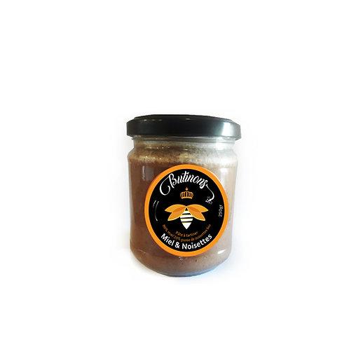 Pâte à tartiner miel noisettes