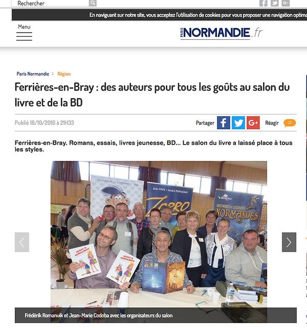 Marie-Françoise Chevallier Le Page et ses amis écrivains dans Paris Normandie