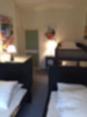 Relais du Château Chambre Lasso Deux lits jumeaux deux lits superposés