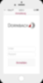 Dornbach App auf dem iPhone