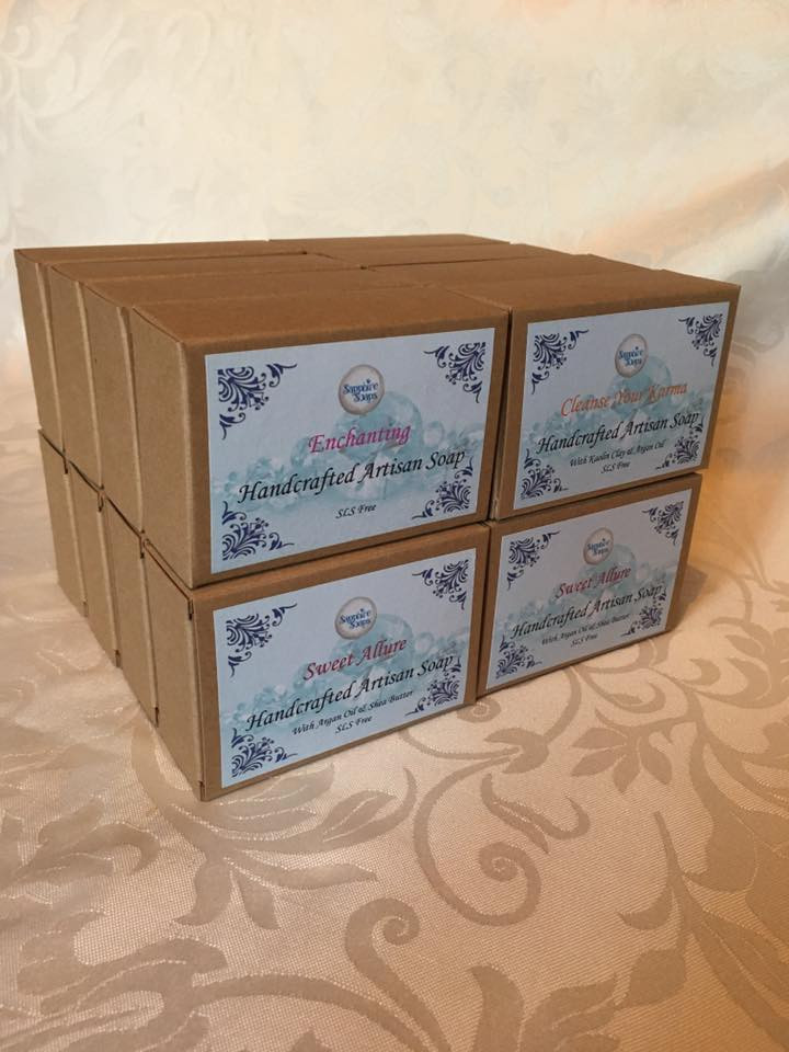New soap packaging