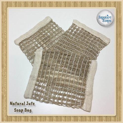 Natural Soft Jute Soap Bag