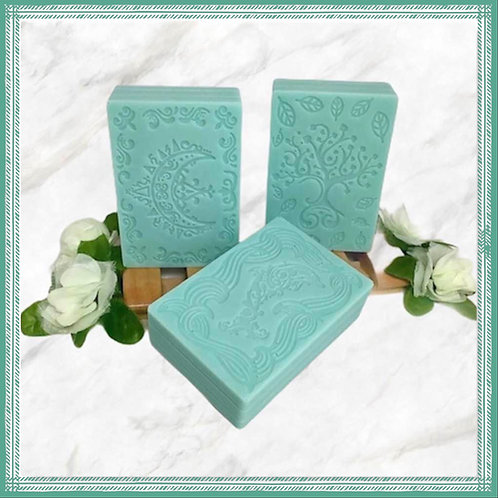 Fresh Peppermint Solid Shampoo Bar