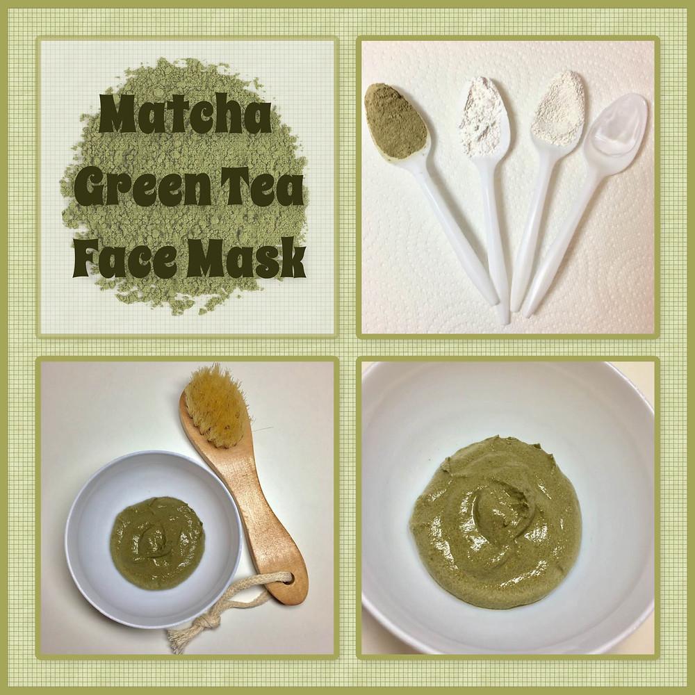 matcha green tea face mask