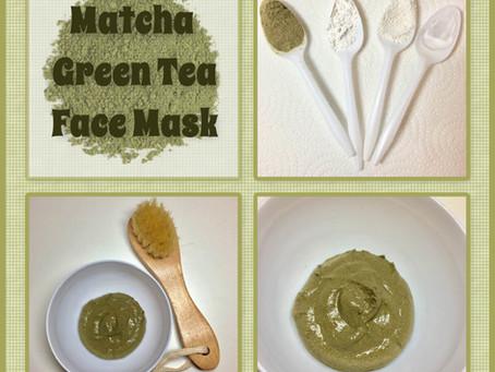 Matcha Green Tea DIY Face Mask